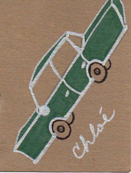 Gangster Car Doodle